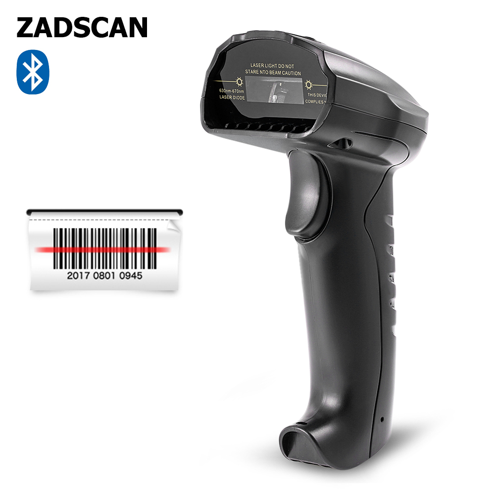 ZADSCAN BP8150BL 1D Barcode Scanner Bluetooth EDR Wireless Handheld Bar-code Reader Support / Windows / Android / IOS(China)