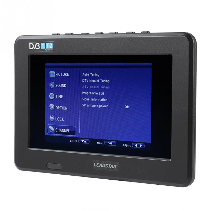 LEADSTAR Potable 7 inch TV HD TFT LED Sc