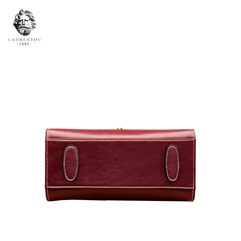 Marée Bandoulière New Simple Dames À De Brown Main Sac Cuir 2018 red En Wine Messager black Occasionnel Laorentou Mode gzEqW