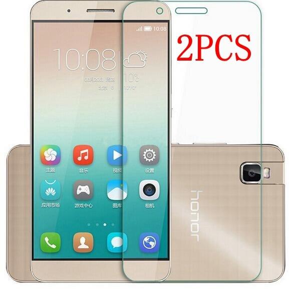2 шт. Оригинальное закаленное стекло для Huawei ShotX Shot X защита для экрана Thoughed Защитная пленка для Honor 7i стекло