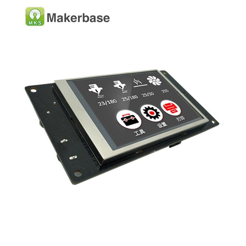 MKS TFT32 écran tactile intelligent contrôleur d'affichage 3.2 pouces CE et RoHS 3D Imprimante splash écran soutien APP/BT /édition/langue locale - 3