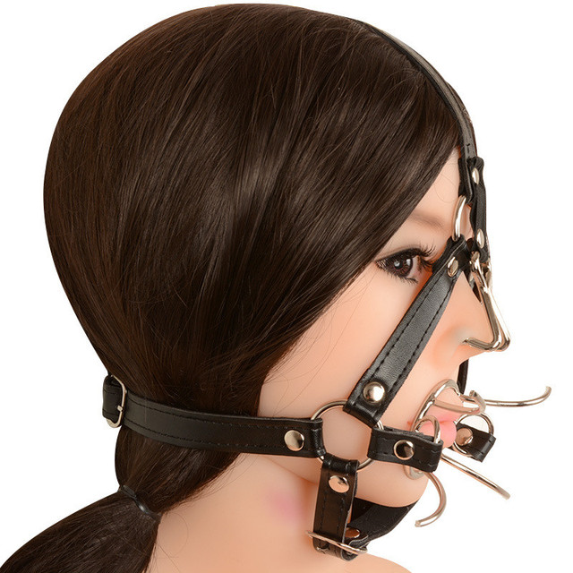 Bdsm gags with nose piece