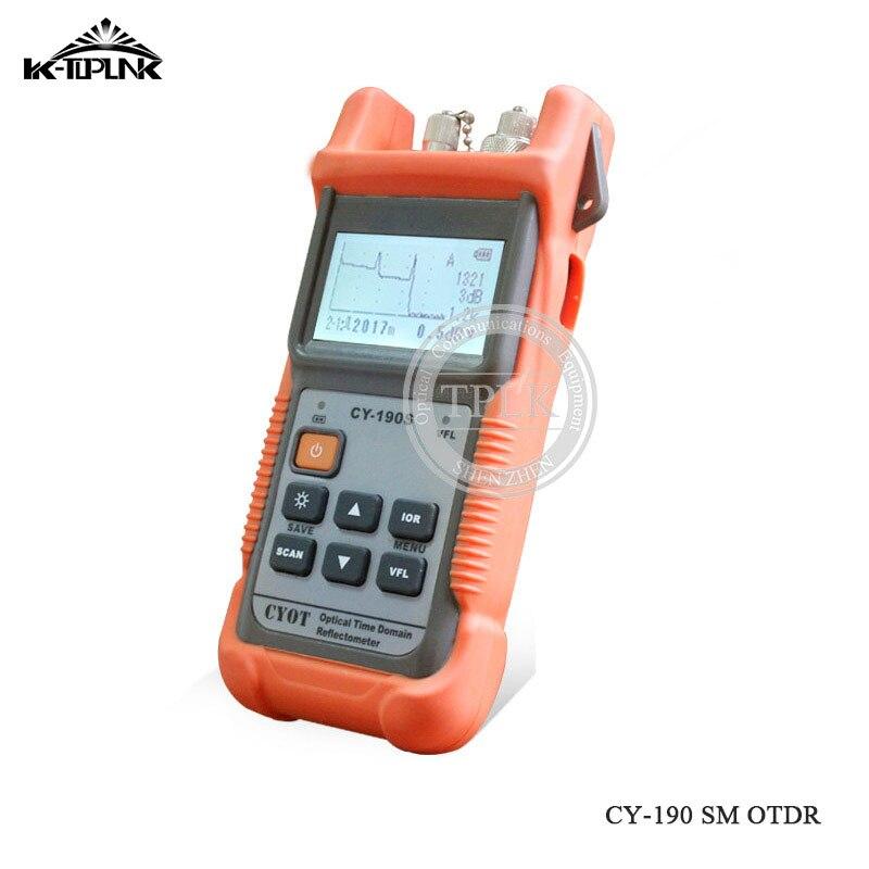 Дешевый FTTH волоконно-оптический сварочный аппарат для сращивания A-81S сварочный аппарат для сращивания с 9 секундами - Цвет: CY190S OTDR