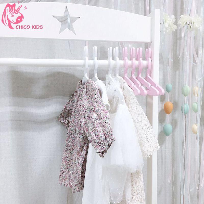 Houten Konijn Jas Hangers Haak Voor Kid Kinderkleding Jurk In