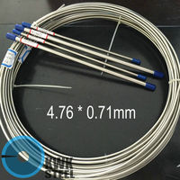 High Precision Seamless Stainless Steel Tube TP316L For Automobile Yacht Brake System Size OD 3 16