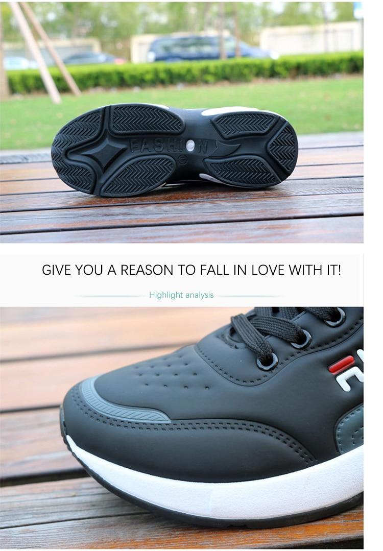 Homem correndo sapatos almofada de ar tênis