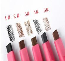 Hot Sale Women Ladies Waterproof Brown E yebrow Pencil  Pen Powder Shaper 5 colors New 1pcs