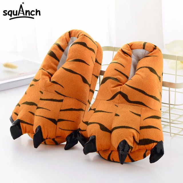 Unicorn Slippers Cartoon Animal Claw Kigurumi Onesies Pajama Shoes Kid Adult Kawaii Funny Casual style Cosplay Prop Party Wear