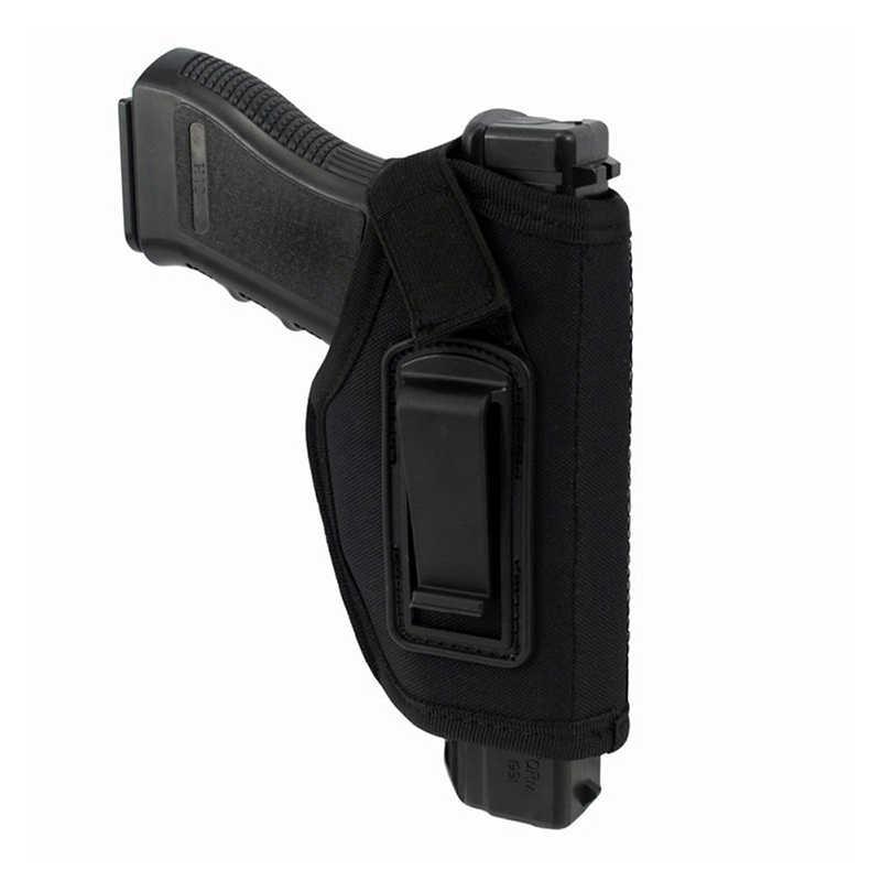 ยุทธวิธี Universal ปืนกระเป๋าขวามือไนลอนปืน Holster กระเป๋าขนาดกะทัดรัด/Subcompact ขนาดเล็ก Holster กระเป๋า