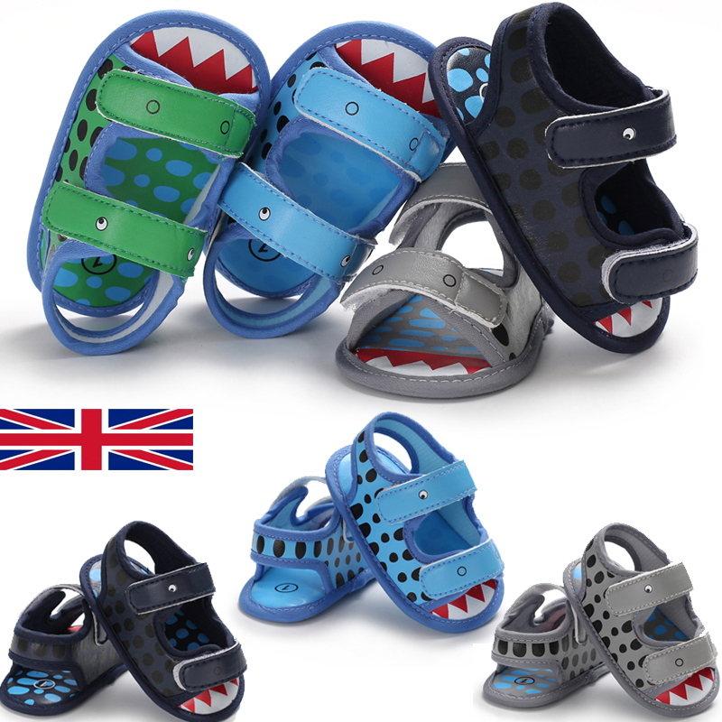 0-18M Toddler Baby Boy Casual Crawling Shoes Newborn Infant Anti-slip Sandals
