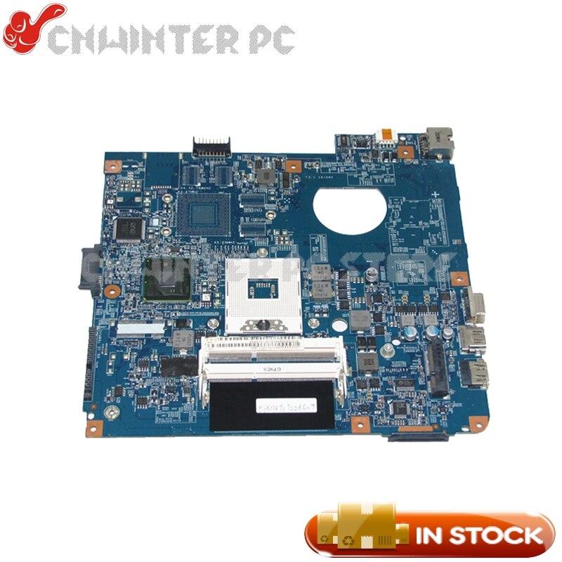 NOKOTION MBTVQ01001 MB.TVQ01.001 48.4GY02.031 For Acer aspire 4741 4741G Laptop Motherboard HM55 GMA HD DDR3 nokotion laptop motherboard for acer 4741 4741g d730 nv49c ms2303 ms2306 mbr7p01003 48 4gy02 031 hm55 nvidia gt420 ddr3