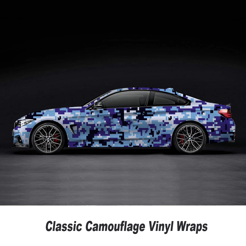 Digital Camouflage Vinyl Wrap Film Auto Sticker for Car Wrapping Motorcycle 5m/10m/15m/20m/25m/30m Over 200 style Classic style - 6