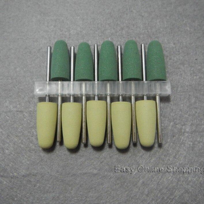 ᑎ‰1 Unidades/10 unids pulido de acrílico dental pulidores resina ...