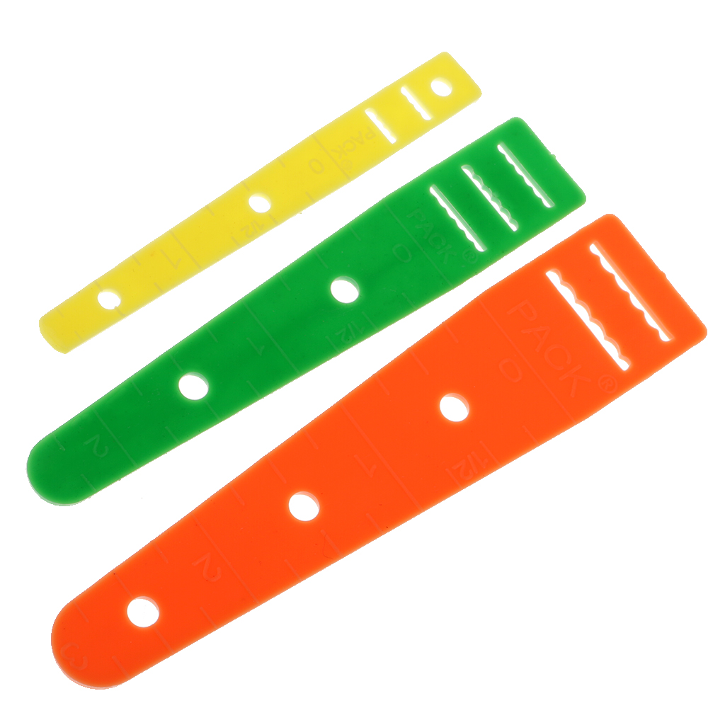 3 Sizes Assorted Plastic Elastic Glides Guides Threaders Wear Elastic Band Tool DIY Clothing Needleworking Sewing Accessories