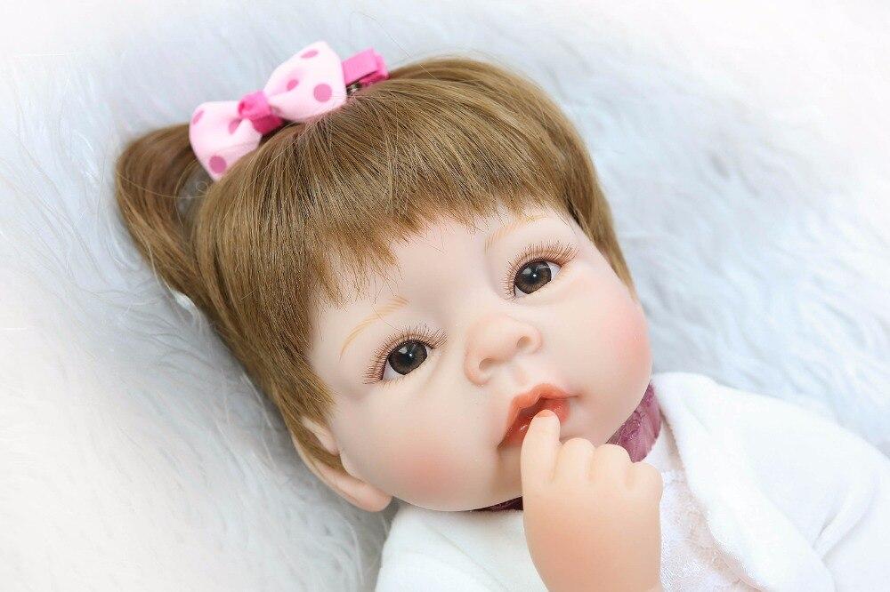 ФОТО Real touch 40cm Silicone   Lifelike Bonecas Baby newborn realistic magnetic pacifier bebe bjd reborn dolls brinquedo menina