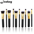 Jashay  10Pcs Makeup Brush Sets Tools Cosmetic Brush Foundation Eyeshadow Eyeliner Lip Powder Brush Pinceau Maquillage