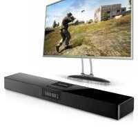 ELE ELEOPTION 4000mAh kolumna bezprzewodowy głośnik Bluetooth soundbar do telewizora Stereo kina domowego Sound Bar tf usb RCA zegar na PC TV