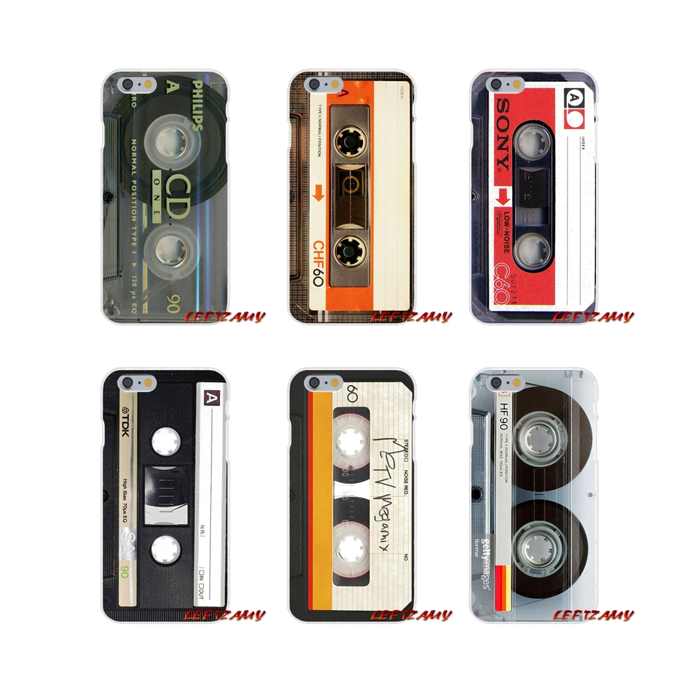 For iPhone X XR XS MAX 4 4S 5 5S 5C SE 6 6S 7 8 Plus Accessories Phone Shell Covers Retro Side Old Style 3310 Tape Cassette