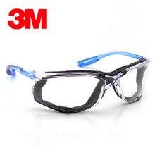 3 M 11872 óculos de Proteção Óculos de Moda Portátil Anti-fog Poeira E UV de Alta-resistência Ao Impacto Óculos de Proteção