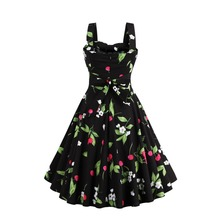 Großhandel retro cherry dress Gallery Billig kaufen retro