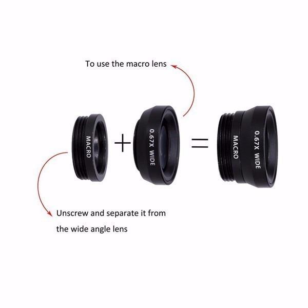 12in1 Camera Lens Kits 8x Zoom Telephoto Lentes Fisheye Wide Angle Macro Lens For iPhone 5 5C 5S SE 6 6S 7 Plus 8 X Phone Lenses 4
