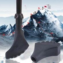 1 шт. Прочная резиновая головка для трости треккинга походный полюс альпеншток