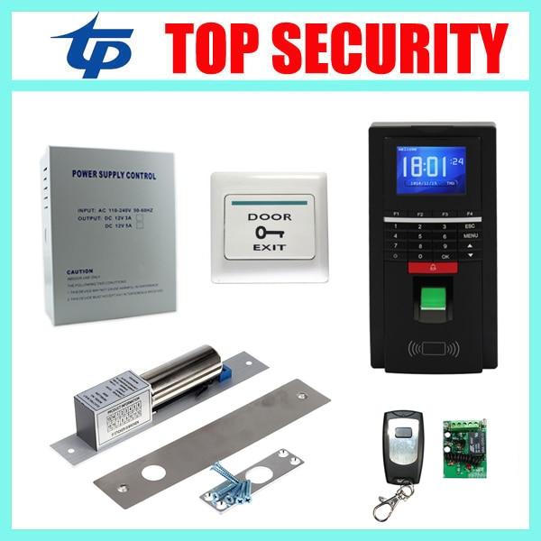 MF131 color screen fingerprint and RFID card door access control system TCP/IP USB fingerprint door access control reader system