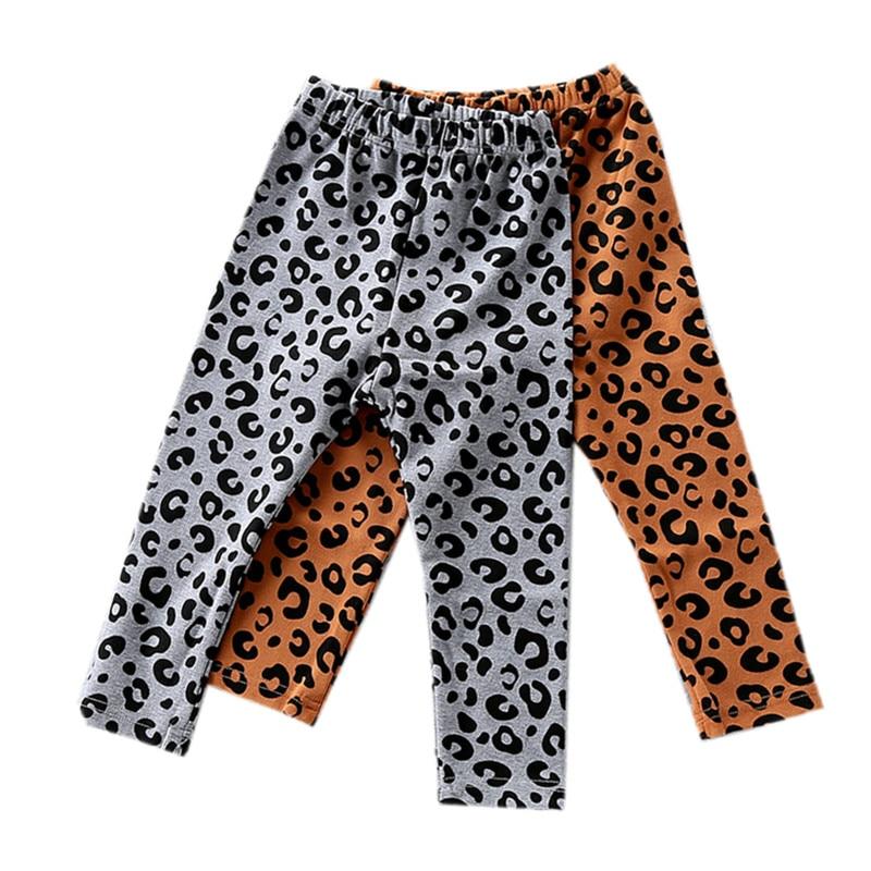 5d8e55c49881 baby & kids girls fashion cotton leopard print skinny casual leggings  children girl 12M to 5