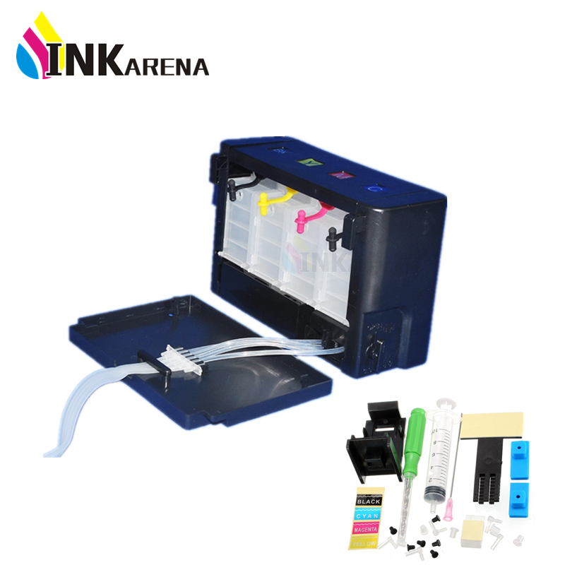 Continuous Ink Supply System Ciss Tank Replacement For HP 21 22 301 302 121 122 901 650 For Canon PG445 PG510 Printer Cartridge continuous ink supply system for epson canon hp lexmark