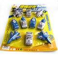10 unids/set Juguetes Bebé Mini Coches de juguete de Los Niños Tira del coche Trueno ataque de simulación modelo de coche para Niños juguete