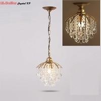 Modern Crystal Pendant Light K9 Crystal Lamp Restaurant Lamp Crystal Rectangular Lighting Luxury Pendant Light Lighting