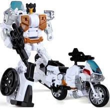 Baru HaiZhiXing Transformasi Mainan anak Anime Devastator Robot Aksi Angka Pesawat Motor Tangki Model Anak Mainan pendidikan