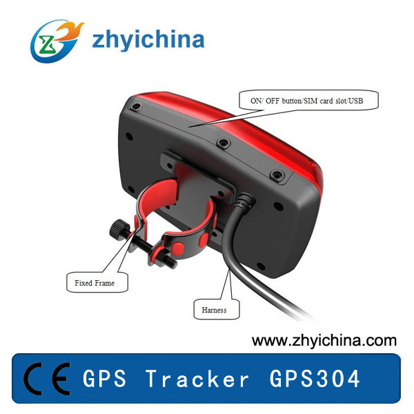 Tail Light Shape Electric Bike Gps Gps