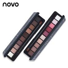 1PC NOVO Fashion Eye Makeup Eye Shadow Shimmer Matte Palette Natural Make Up Light 10 Colors