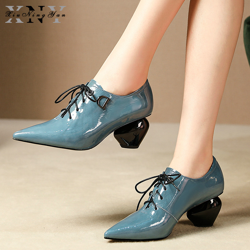 Pointed Toe Women Pumps Lades Office