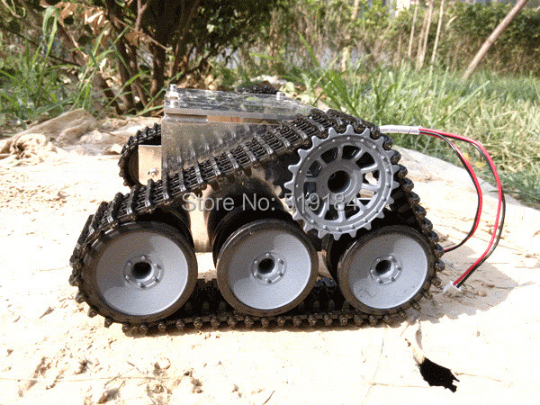 ROT-4 Special tracked vehicle chassis SUV robot tanks цены онлайн