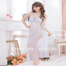 Fashion Women Sexy Slip Dress Loose Long Lingerie's Perspective Babydoll Nightwear Slips LLLB
