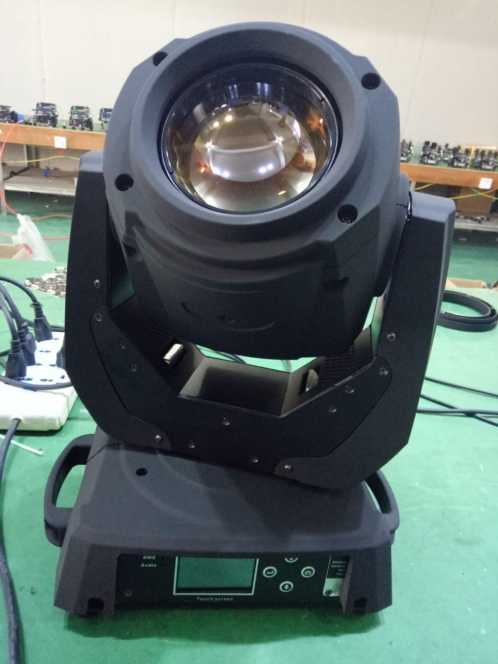 4pcs/lot china aliexpress cheap price 132w sharpy 2r beam moving head light touch screen LCD display