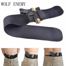Фотография Tactical Multifunction Universal Abdominal Band Pistol Holster for Glock 17 19 22 Series and Most Pistol Handguns 2 In 1 Combo