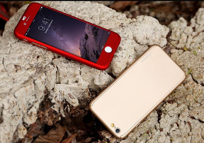 Floveme 6 s 7 plus armor screen protector 360 stopni case dla iphone 7 6 6 s dla iphone 6 6s 7 plus full chroń odporny na wstrząsy pokrywa 2