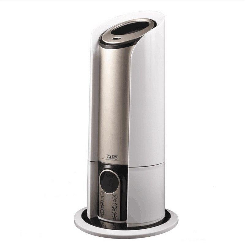 5L Touchscreen Intelligente di spegnimento Automatico di Aria Condizionata Umidificatore Purificazione Muto di Telecomando Mute Air Mist