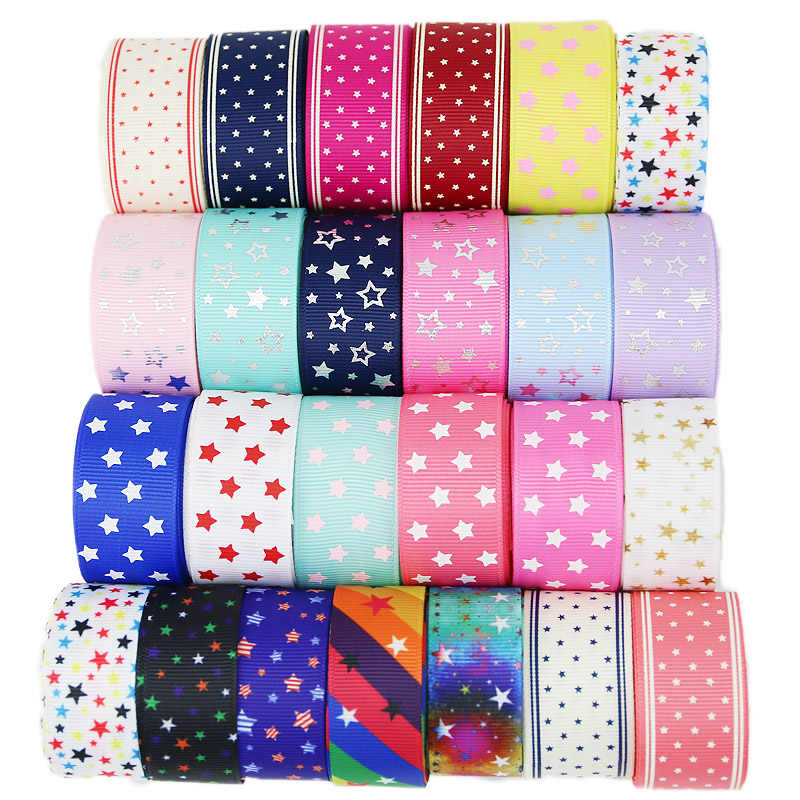 1 yard mix 6 Kinds of Cartoon Lovely Ribbons ribbon set for DIY handmade jewelry accessories