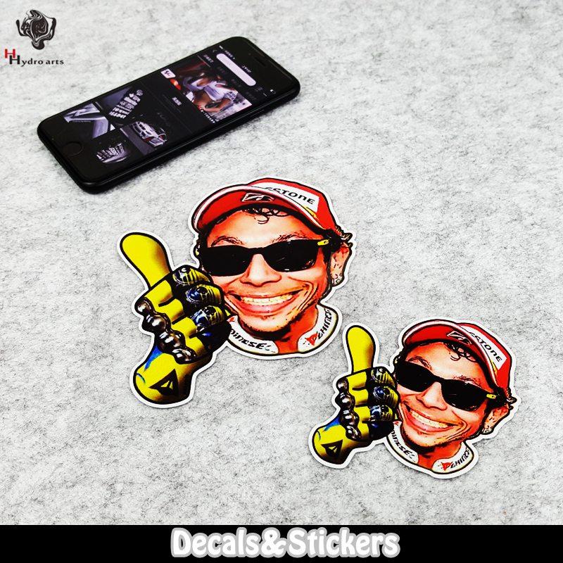 Valentino Rossi 46 The Doctor Car Sticker 3M Material Reflective Sticker Moto GP