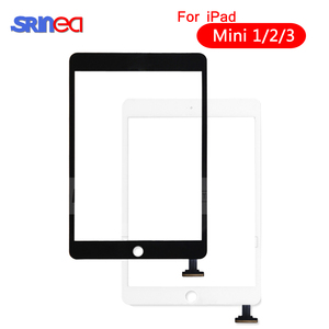 Image 1 - Für iPad Mini 1 2 Mini 3 Hohe Qualität Touchscreen Digitizer Montage mit Home Taste Taste & Home Flex kabel Mini1 Mini2 Mini3