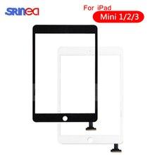 עבור iPad Mini 1 2 מיני 3 מסך מגע באיכות גבוהה Digitizer עצרת עם בית מפתח כפתור & בית Flex כבל Mini1 Mini2 Mini3