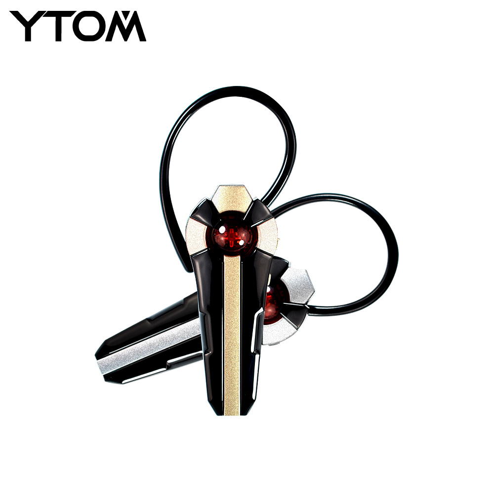 YTOM Wireless Bluetooth Earphone Hands-free CSR 4.0 Bluetooth Headset with Noise Cancelling MIC for IPhone Samsung Xiaomi phone boas wireless bluetooth earphone hands free earbud earpiece car charger usb headsets with mic 2 in 1 headset for iphone xiaomi