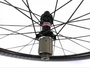 Image 5 - 60mm עומק 25mm רוחב דיסק בלם פחמן גלגלי נימוק מכריע/צינורי Cyclocross אופניים פחמן זוג גלגלים עם 411/ 412CL רכזות 12 K אריג