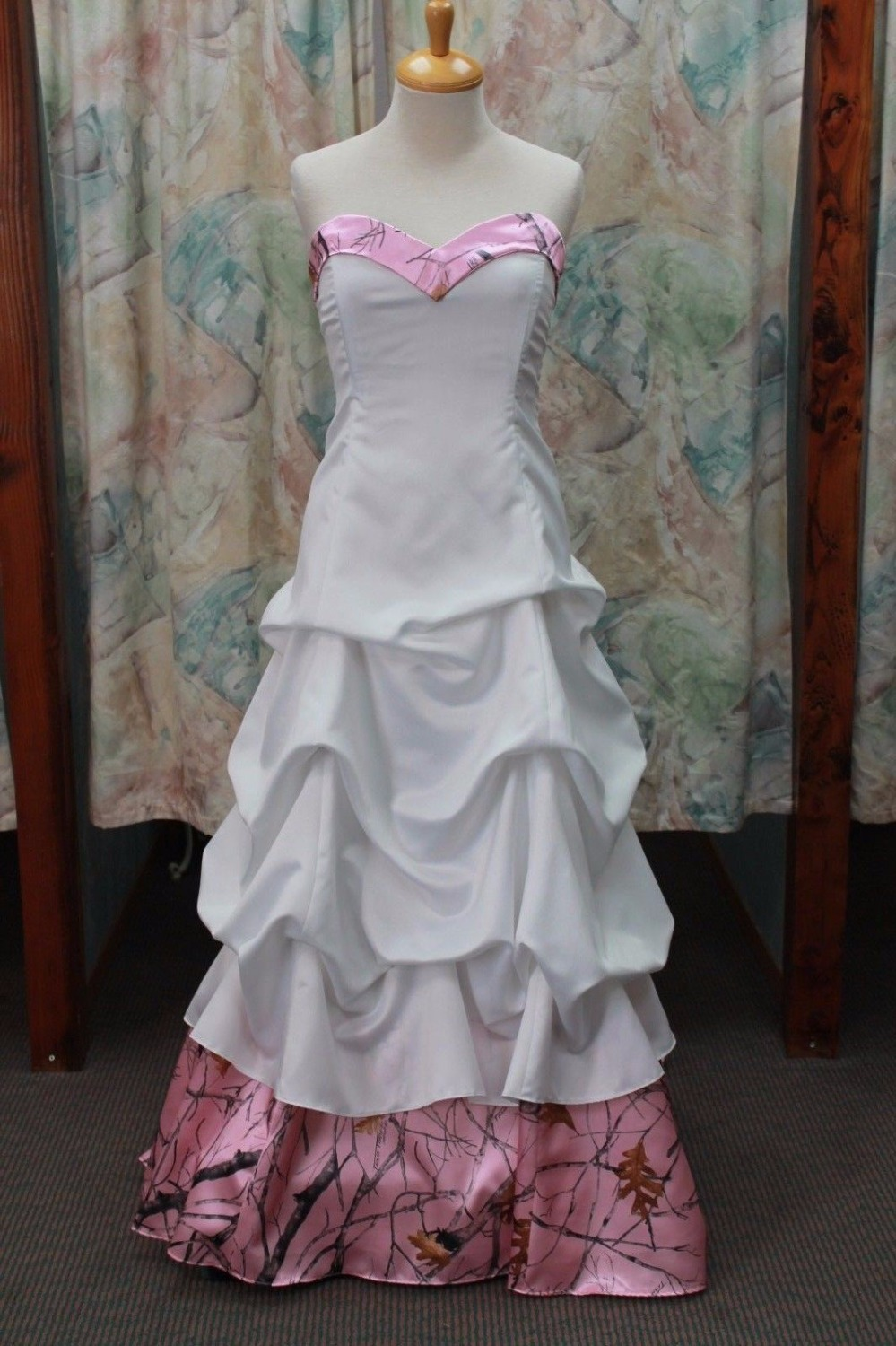Size 0 wedding dresses promotion shop for promotional size 0 free shipping sweetheart pink camo wedding dresses bridal gowns vestido de noiva 2017 new custom make size 0 ombrellifo Gallery