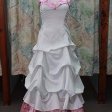 VStextile sweetheart pink camo wedding dresses bridal gowns
