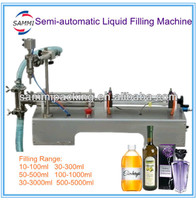 G1WY 500 Semi Automatic Liquid Filling Machine For Wine Juice Beverage 10 To 100ml 50 To